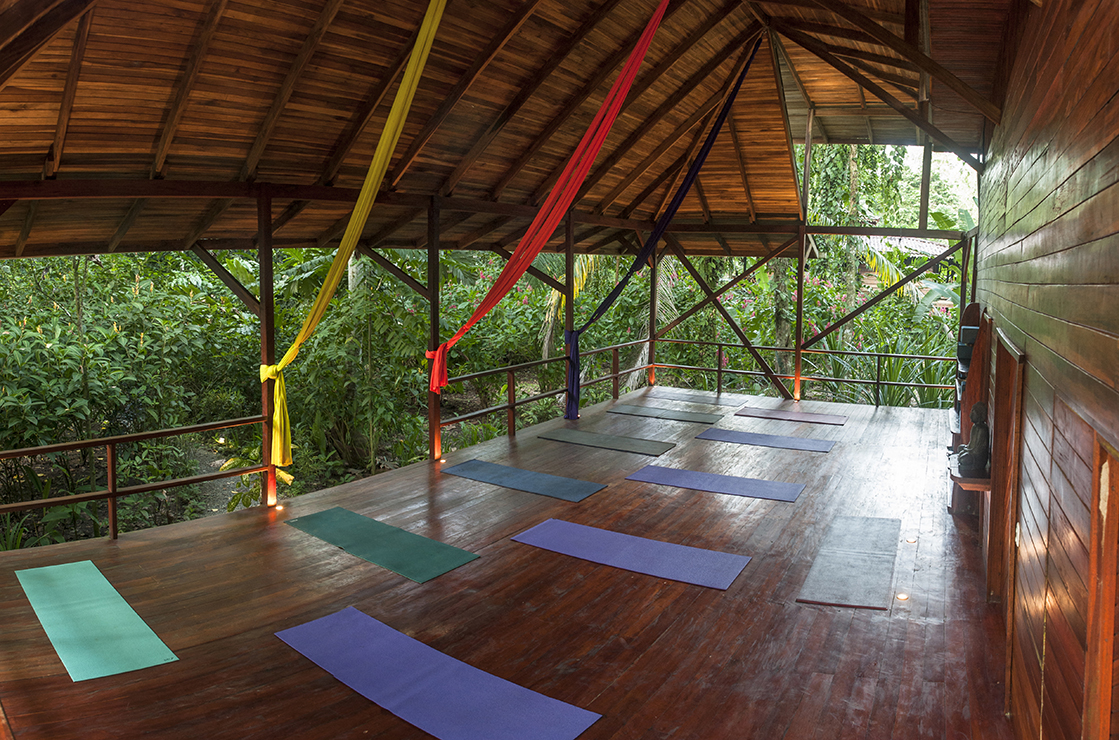 Yoga Practice Space