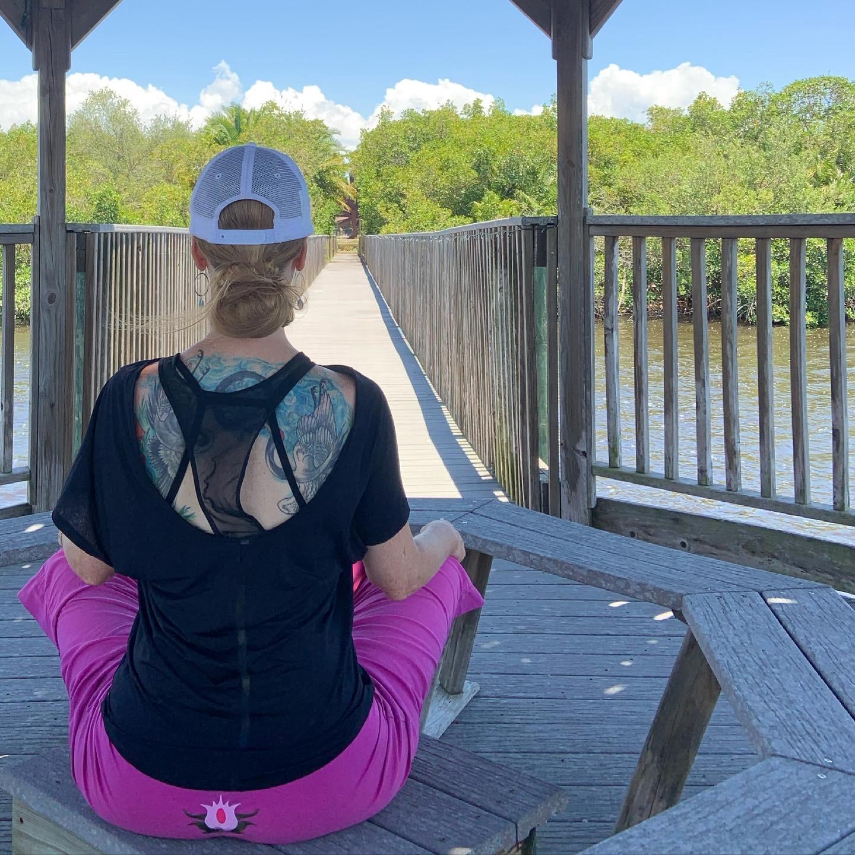 Sitting-in-meditation